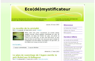 http://ecodemystificateur.blog.free.fr/index.php?