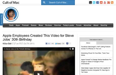http://www.cultofmac.com/121829/apple-employees-created-this-video-for-steve-jobs-30th-birthday/