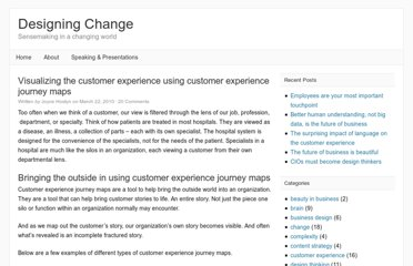 http://www.joycehostyn.com/blog/2010/03/22/visualizing-the-customer-experience-using-customer-experience-journey-maps/