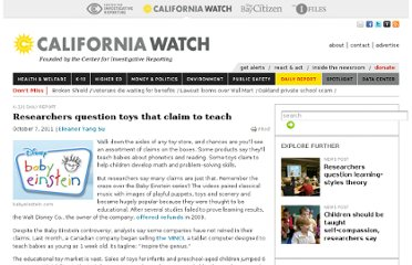 http://californiawatch.org/dailyreport/researchers-question-toys-claim-teach-12984
