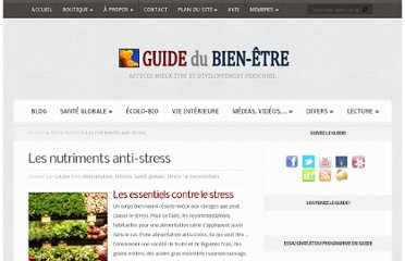 http://guidedubienetre.com/2011/03/les-nutriments-anti-stress/