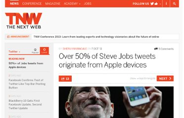 http://thenextweb.com/twitter/2011/10/07/over-50-of-steve-jobs-tweets-originate-from-apple-devices/