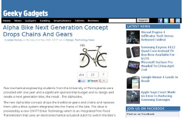 http://www.geeky-gadgets.com/alpha-bike-next-generation-concept-drops-chains-and-gears-02-05-2011/