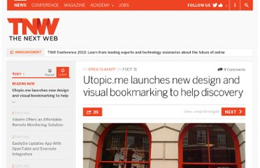 http://thenextweb.com/apps/2011/10/07/utopic-me-launches-new-design-and-visual-bookmarking-to-help-discovery/