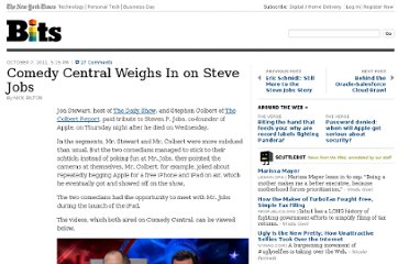 http://bits.blogs.nytimes.com/2011/10/07/comedy-central-weighs-in-on-steve-jobs/