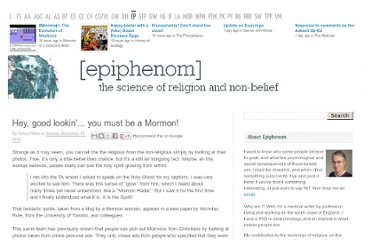 http://epiphenom.fieldofscience.com/2010/12/hey-good-lookin-you-must-be-mormon.html