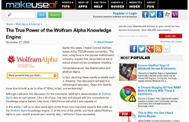 http://www.makeuseof.com/tag/the-true-power-of-the-wolfram-alpha-knowledge-engine/