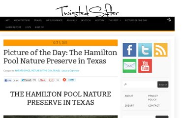 http://twistedsifter.com/2011/10/picture-of-the-day-the-hamilton-pool-nature-preserve-in-texas/