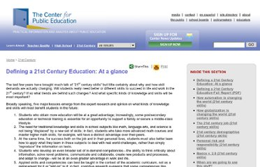 http://www.centerforpubliceducation.org/Learn-About/21st-Century