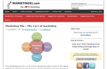 http://www.marketing91.com/marketing-mix-4-ps-marketing/