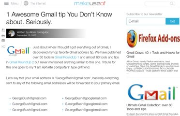 http://www.makeuseof.com/tag/1-awesome-gmail-tip-you-dont-know-about-seriously/