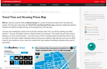 http://datavisualization.ch/showcases/travel-time-and-housing-prices-map/