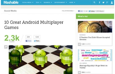 http://mashable.com/2011/06/05/android-multiplayer-games/#15571Parallel-Kingdom