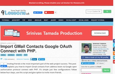 http://www.9lessons.info/2011/06/import-gmail-contacts-google-oauth.html