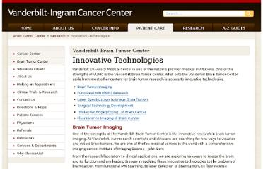 http://www.vanderbiltbraintumorcenter.com/research/innovative.php