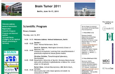 http://braintumor.glia.mdc-berlin.de/program.php