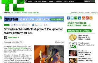 http://techcrunch.com/2011/06/16/string-launches-with-fast-powerful-augmented-reality-platform-for-ios/