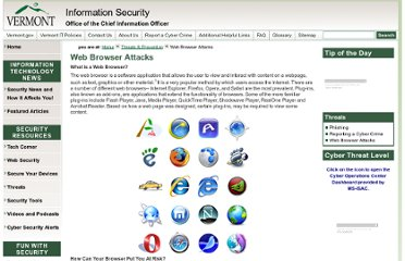 http://itsecurity.vermont.gov/threats/web_attacks