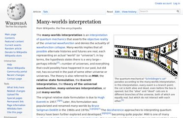 http://en.wikipedia.org/wiki/Many-worlds_interpretation