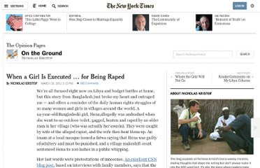 http://kristof.blogs.nytimes.com/2011/03/30/when-a-girl-is-executed-for-being-raped/