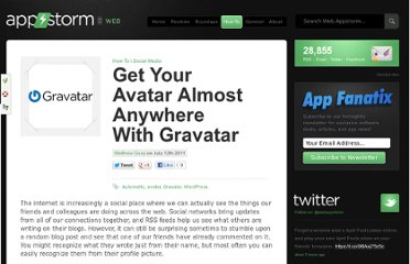 http://web.appstorm.net/how-to/get-your-avatar-almost-anywhere-with-gravatar/