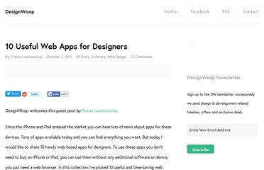 http://designwoop.com/2011/10/10-useful-web-apps-for-designers/