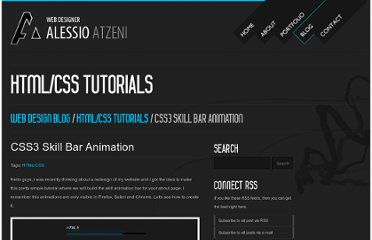 http://www.alessioatzeni.com/blog/css3-skill-bar-animation/