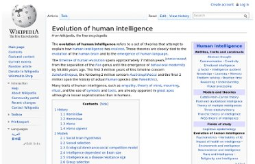 http://en.wikipedia.org/wiki/Evolution_of_human_intelligence