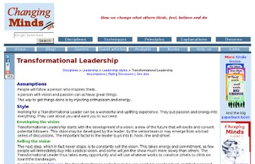 http://changingminds.org/disciplines/leadership/styles/transformational_leadership.htm