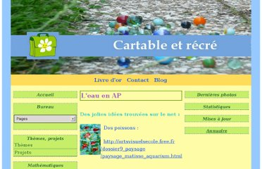 http://cartabletrecre.e-monsite.com/pages/content/arts-plastiques/l-eau-en-ap.html