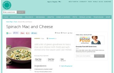 http://www.marthastewart.com/344920/spinach-mac-and-cheese
