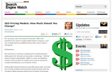 http://searchenginewatch.com/article/2115703/SEO-Pricing-Models-How-Much-Should-You-Charge