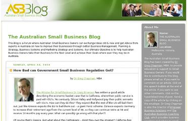 http://australiansmallbusiness.net.au/blogger/index.html