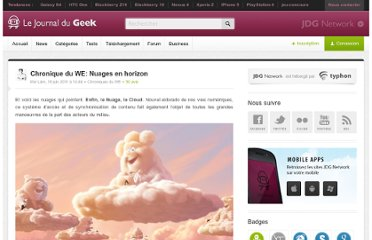 http://www.journaldugeek.com/2011/06/18/chronique-du-we-nuages-en-horizon/