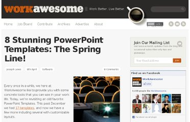 http://workawesome.com/software/8-stunning-powerpoint-templates-the-spring-line/