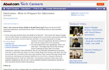 http://jobsearchtech.about.com/od/gettingthejob/a/interview_tips_3.htm
