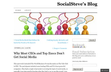 http://socialsteve.wordpress.com/2011/10/09/why-most-ceos-and-top-execs-don%e2%80%99t-get-social-media/