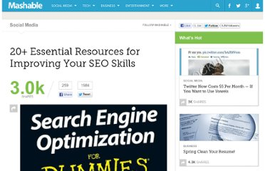 http://mashable.com/2011/10/09/seo-resources/