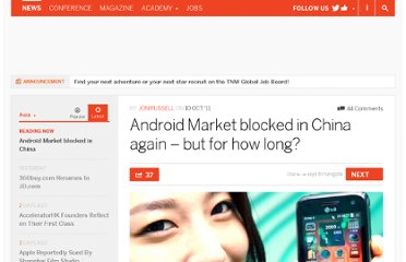 http://thenextweb.com/asia/2011/10/10/android-market-blocked-in-china-again-but-for-how-long/