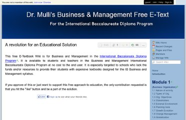 http://drmullibusinessmanagement.wikispaces.com/Introduction