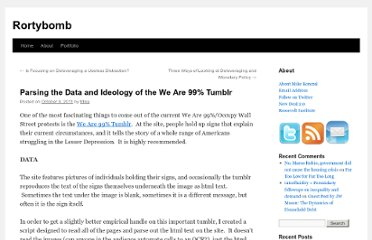http://rortybomb.wordpress.com/2011/10/09/parsing-the-data-and-ideology-of-the-we-are-99-tumblr/