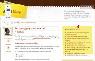 http://agiliq.com/blog/2009/08/django-aggregation-tutorial/