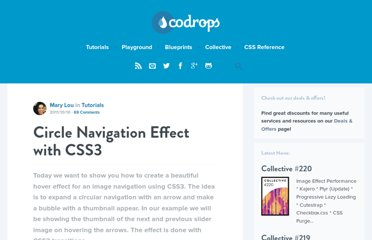 http://tympanus.net/codrops/2011/10/10/circle-navigation-effect-with-css3/
