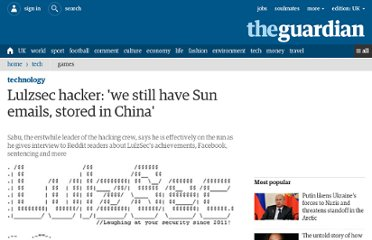 http://www.guardian.co.uk/technology/2011/oct/10/lulzsec-hacker-sun-emails