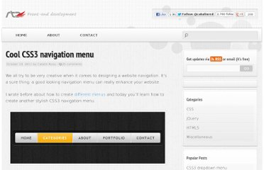 http://www.red-team-design.com/cool-css3-navigation-menu
