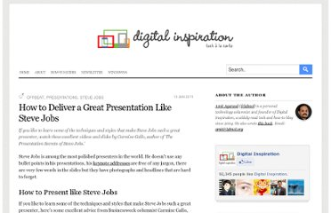http://www.labnol.org/home/deliver-presentations-like-steve-jobs/12451/
