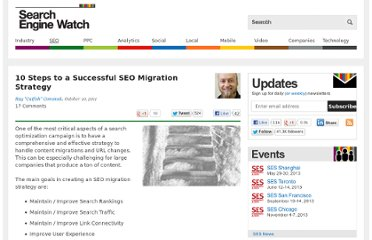 http://searchenginewatch.com/article/2115729/10-Steps-to-a-Successful-SEO-Migration-Strategy