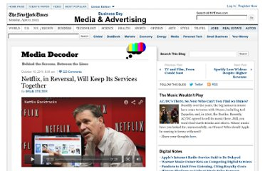 http://mediadecoder.blogs.nytimes.com/2011/10/10/netflix-abandons-plan-to-rent-dvds-on-qwikster/