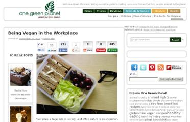 http://www.onegreenplanet.org/lifestyle/being-vegan-in-the-workplace/