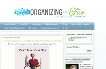 http://organizingmadefun.blogspot.com/2010/11/15-minutes-of-cleaning-how-to-have-fake.html
